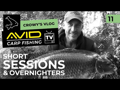 Avid Carp Fishing TV! | Crowy's Vlog | 011 | Short Sessions & Overnighters!