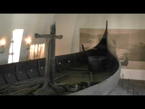 Viking Gokstad ship. Oslo museum.
