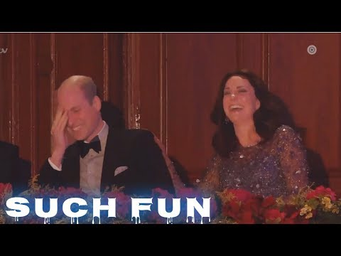 Mirand Asked To Join Prince William to be a Comedian - Very Funny - Such Fun