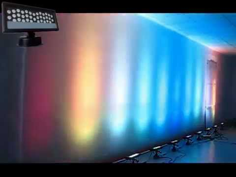 DJ LED Wedding Uplight Outdoor Wall Light 36*3w Panel Wash Uplight IP65 - YouTube  sc 1 st  YouTube & DJ LED Wedding Uplight Outdoor Wall Light 36*3w Panel Wash Uplight ... azcodes.com