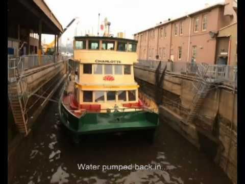 Sydney Ferries Drydock.m4v