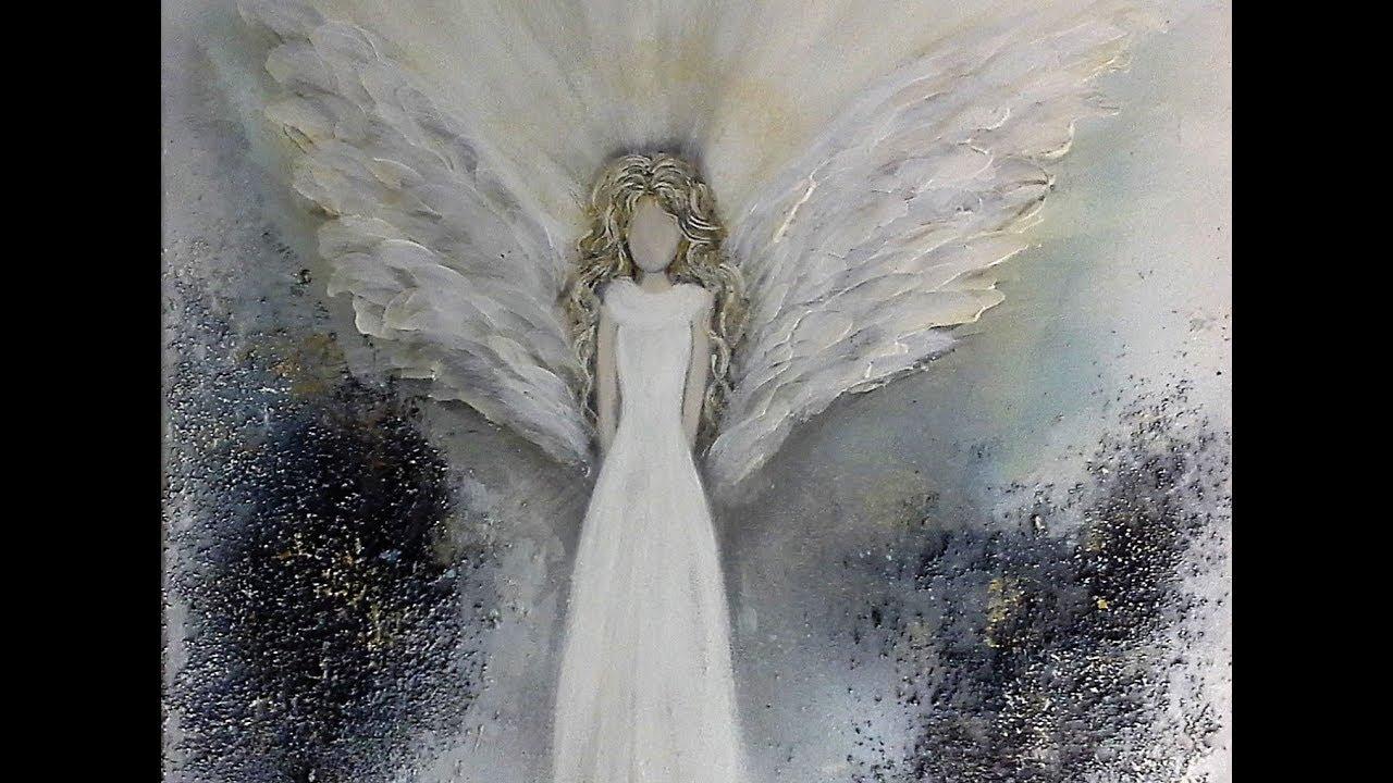 Einfach MalenEasy PaintingThe Angel  V101  YouTube