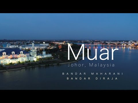 Muar City, Johor, Malaysia - Cleanest City of South East Asia, the Royal Town of Johor