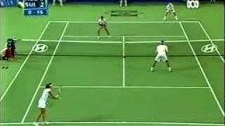 Federer & Mirka vs Hewitt & Molik - part 4