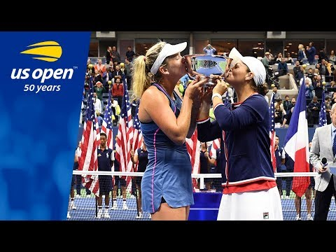 Ashleigh Barty and CoCo Vandeweghe Win Their First Grand Slam Title