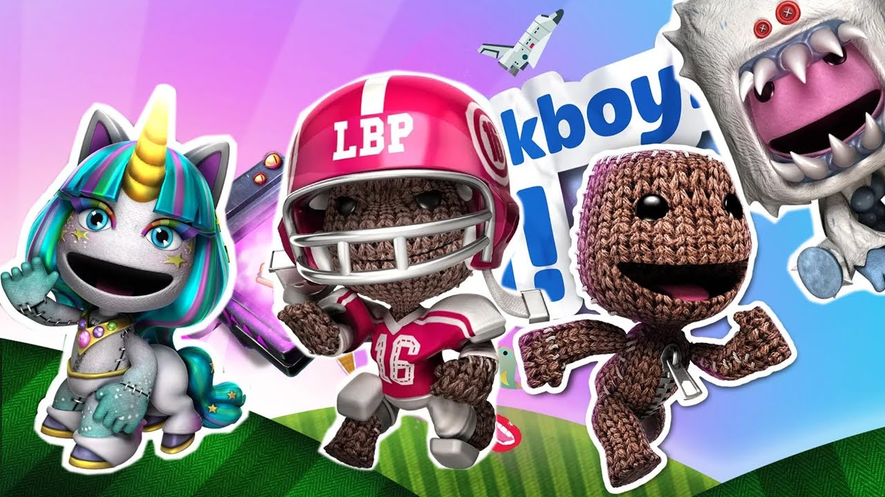 run sackboy run littlebigplanet playstation mobile android İos free
