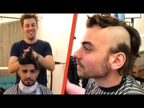 On fait des coupes de cheveux à des inconnus