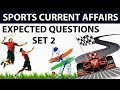 Sports current affairs MCQs of Last 6 months - Set 2 - October 2017 to March 2018 by Dr Gaurav Garg