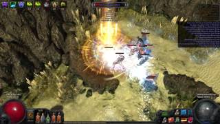 OP Warlord 39 s Mark mana leech in no regeneration map Path of Exile
