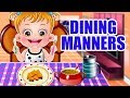 Baby Hazel Dining Manners | Fun Game Videos By Baby Hazel Games