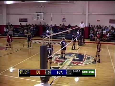 MSL HS Volleyball - BU @ FCA - 09-05-13
