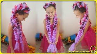 The most popular hairstyle of last summer | Volume braids with kanekalon | Jumbo braids!