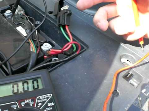 How to wire a GY6 scooter regulator  rectifier and how it all works (Part 2 battery connections