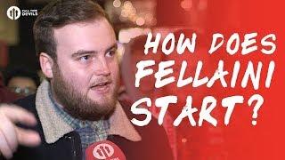 HOW DOES FELLAINI START? Manchester United 1-2 Sevilla