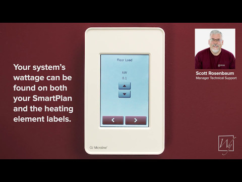 How To Program The Ditra Heat E Rt Thermostat Doovi