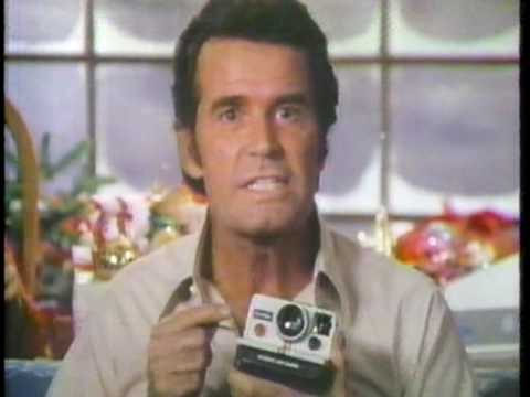 James Garner & Mariette Hartley Polaroid Christmas 1979