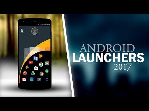 Top 5 Best Unique Android launchers 2016/ 2017