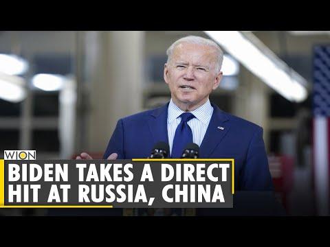 Biden warns China and Russia on Human Rights violations   US   Latest World News   WION English News