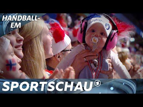Kuriositäten der Handball-EM: Harz, Babys und klebende Bälle | Sportschau