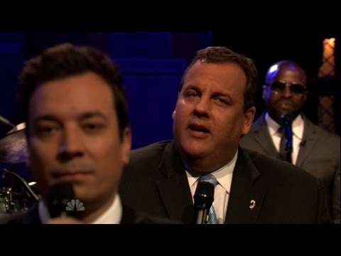 Christie and Fallon slow jam the news