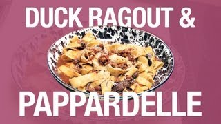 Foodwise - Drafting Table's Duck Ragout And Pappardelle