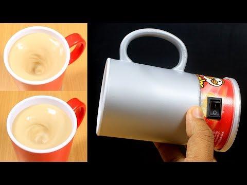 How To Make Self Stirring Mug In Simple Way