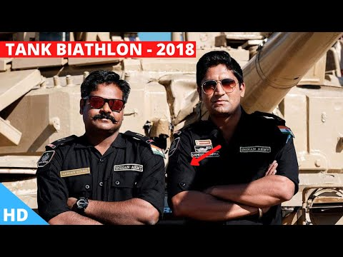 🔴 INDIA Tank Biathlon '2018' : 2nd Rank in 1st Race International Army Games 2018