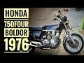 Honda 750 Four Boldor 1976: Uma senhora de 40 anos Classuda!