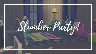 The Sims 4 // Slumber Party Mod Overview!