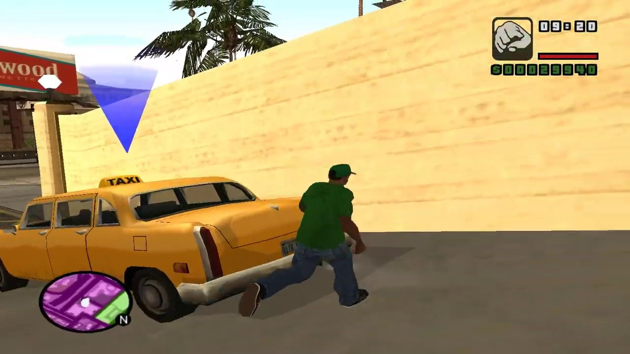 GTA: San Andreas Stories | Taxi-Driver after the fallied of the mission