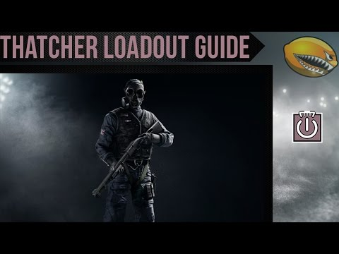 Best Thatcher Loadout Guide Rainbow 6 Siege Gameplay