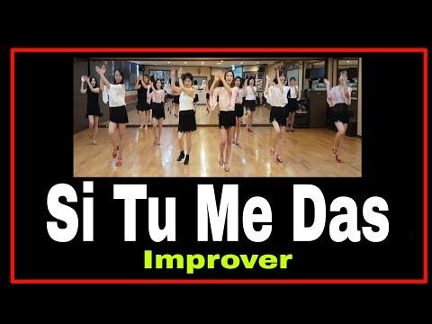Si Tu Me Das Cumbia Line Dance ( Bertarelli - Scarpellini)