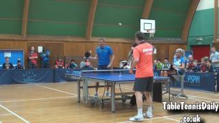 The FUNNIEST TABLE TENNIS MATCH IN HISTORY 2018!!! In Full HD 60fps