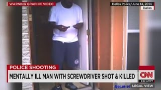 Graphic: Police shoot & kill mentally ill man