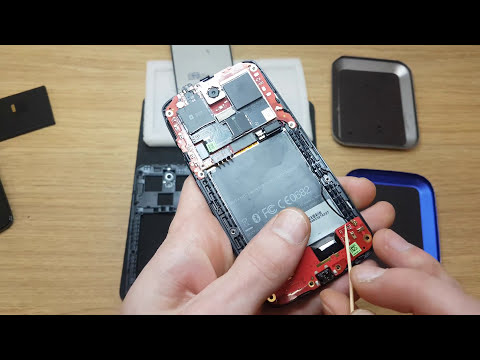 IT Consalting recovery HTC Desire 500 Black motherboard disassemble