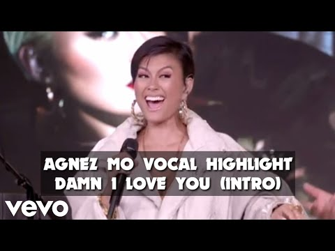 AGNEZ MO VOCAL HIGHLIGHT || (Intro) Damn I Love You Acoustic Version || IHeartRadio Live Session
