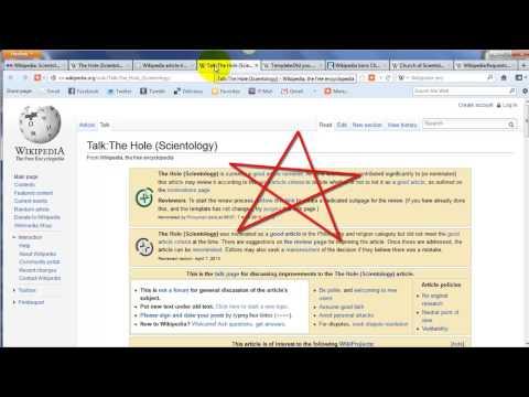 Scientology Wikipedia and Human Trafficking