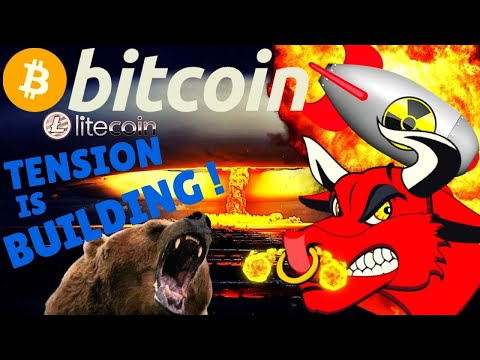🌟BITCOIN TENSION IS BUILDING🌟bitcoin Litecoin Price Prediction, Analysis, News, Trading