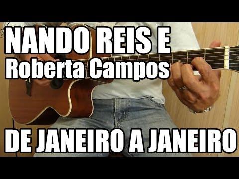 De Janeiro a Janeiro - Roberta Campos part Nando Reis -  de violão