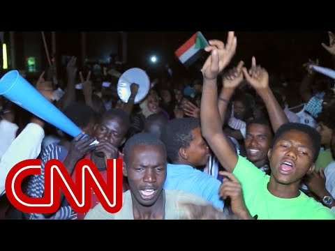 Protesters demanding civilian rule in Sudan