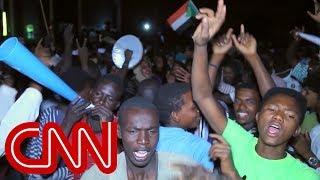 Protesters demanding civilian rule in Sudan