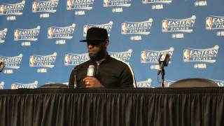 LeBron James On The Importance Of Embrace With Isaiah Thomas