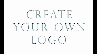 Как фотографу создать логотип. Урок фотошопа. Фотошоп для начинающих. Видеоуроки Pro Photoshop(Урок о создании простого логотипа для фотографа. Простые методы стилизации и принципы которыми можно руков..., 2015-05-13T16:02:40.000Z)