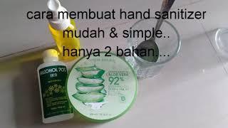 #handsanitizer #coronavirus. cara mudah membuat hand sanitizer hanya dengan 2 bahan.