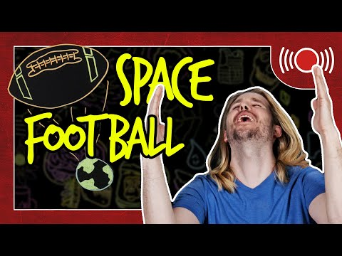 How to Kick a Football to Space | Because Science Live!