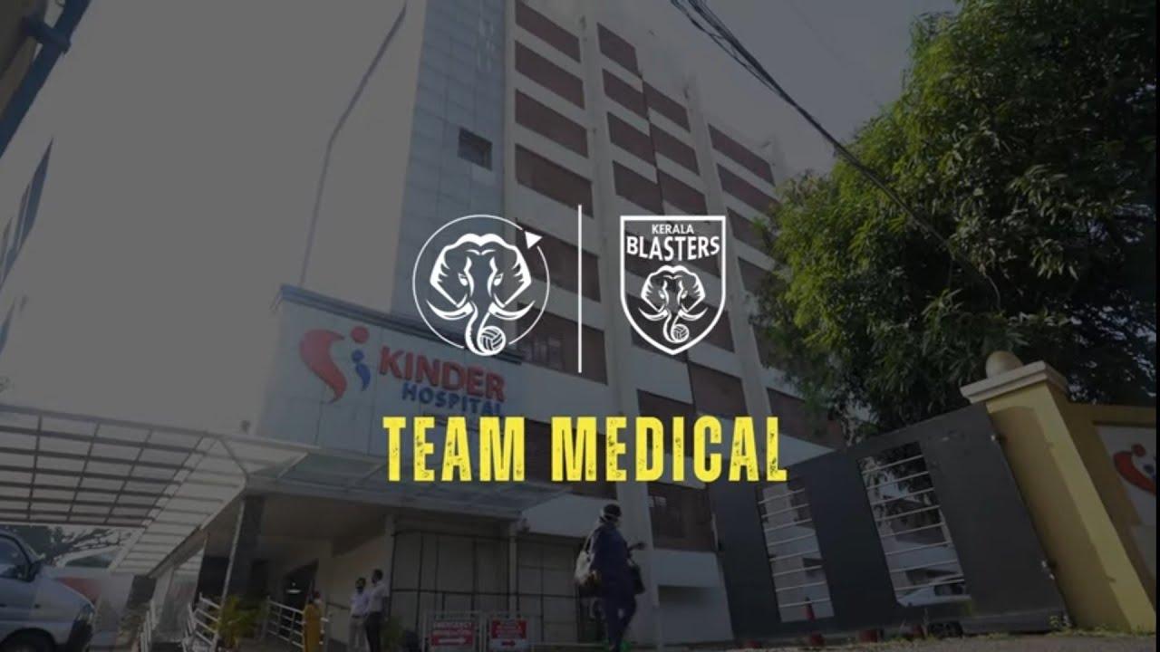 Team Medicals   Kerala Blasters