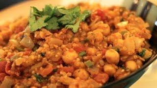 Chana Masala Recipe With Quinoa