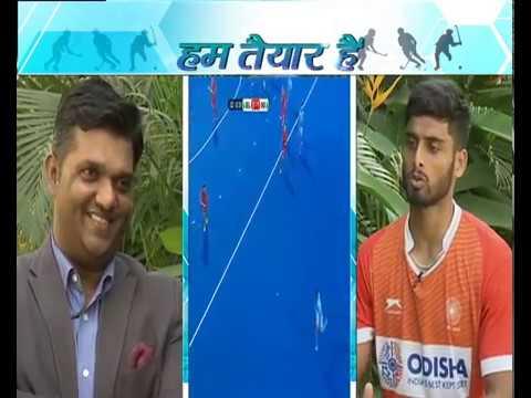 Hockey World Cup 2018 | Varun Kumar & Sumit Kumar in Hum Taiyar Hai| DD Sports