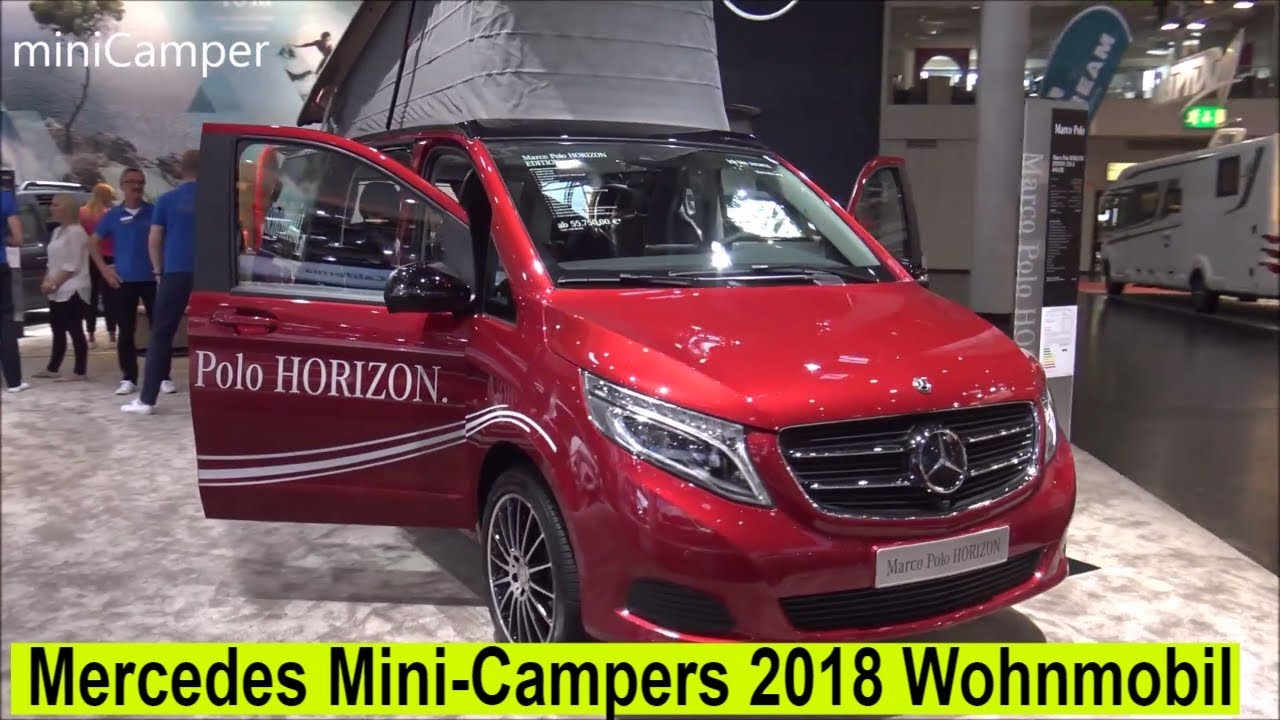 The Mercedes 2018 mini-Campers - YouTube
