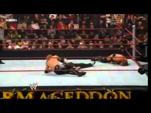 WWE Armageddon 2008 - Jeff Hardy Vs. Triple H Vs. Edge WWE Championship Part 2/3
